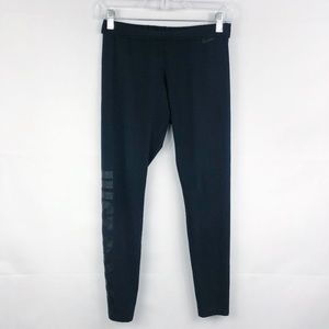 Nike | Just Do It Black Monochromatic Leggings